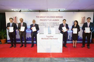 TCS Group Holdings Bhd officially launched prospectus for ACE market listing on 29th June 2020